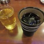 福萬年 - お茶とコーヒーがサービス