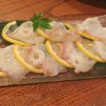 与太呂 - 蛸のレモン塩。さっぱりと美し!