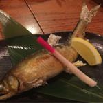 与太呂 - 頭から尻尾まで食べられる鮎の塩焼き!