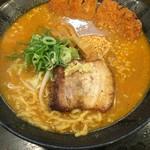 53209203 - 北海道百年 味噌カツラーメン