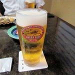 中村家 - 生ビール2016.07.04