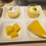 串家物語 - マンゴーとオレンジのデザート