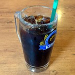 カフェドムッシュ - アイスコーヒー