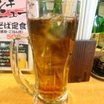 えき亭 - ウーロン茶(明石焼きドリンクセット)