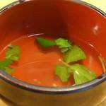 えき亭 - 明石焼きの出汁(明石焼きドリンクセット)