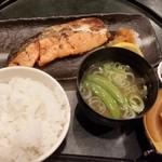 53212261 - 焼き魚(塩鮭)定食