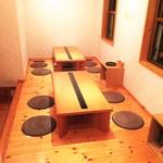 290種類のオムライス 洋食屋バンフィール - 小さなお子様でも安心のお座敷席です