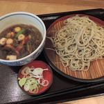 53220220 - 「鴨せいろ(大盛り)」590円+100円(2016年06月)