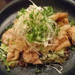 53222201 - 「知床鶏のおろしポン酢かけ」