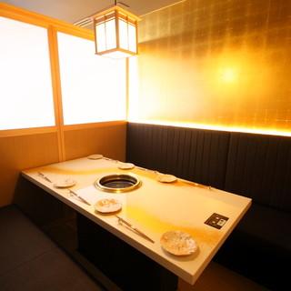 【個室2名様〜】煌びやかな空間でひと時の贅沢を