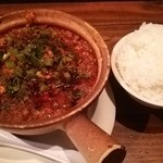 中国料理 五指山 - 麻婆土鍋ご飯900円