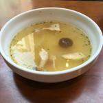TOKYO CIRCUS CAFE - ランチセットのスープ