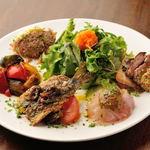 ビストロ アンプル 南欧食堂 - 前菜おまかせ盛り合わせ5種