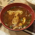 ニューコトブキ - ランチの味噌汁