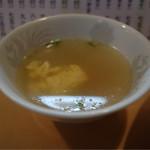 趙雲 - 玉子スープはアッサリ味