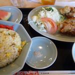 広東飯店 - Aランチ¥830-