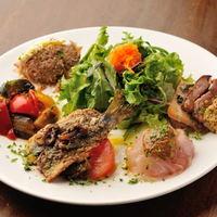 ビストロ アンプル - 前菜おまかせ盛り合わせ5種
