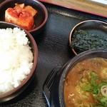 一平ちゃん - クッパ定食♪