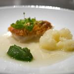 フロリレージュ - 和の風味 甘鯛の鱗焼き