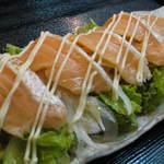 くうのま - サーモンハラスサラダ