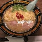 一蘭 - ラーメン+替玉(790円+クーポン)