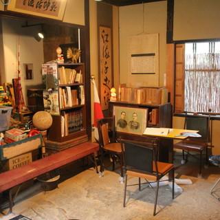 土原歴史散策資料室(小川家長屋門内)