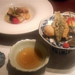 湯回廊 菊屋 - 揚げ物