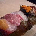 中央市場 ゑんどう - ☆朝食にお鮨を頂きましたぁ(^^♪☆