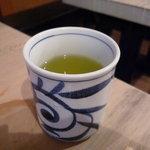 中央市場 ゑんどう - ☆温かいお茶で〆!(^^)!☆