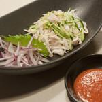炭火焼肉 琉宮苑 - 料理写真:白センマイ刺し。