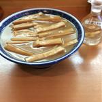 53231691 - 「竹(メンマ多し)」=900円と高麗人参酢の黄金コンビ