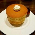 星乃珈琲店 - 料理写真:「パンケーキ ダブル」700円