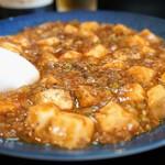 中華酒膳 聖龍 - 「陳健民師父のマーボトーフ」と言われる、麻婆豆腐です(2016.7.7)
