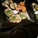 鉄板焼 やまと - 焼き野菜など(2人分)