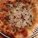 53235206 - しらすのピザ