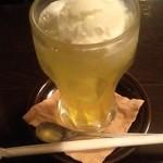 茶房 武蔵野文庫 - クリームソーダ