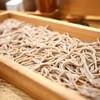 板蕎麦 香り家 - 料理写真:板蕎麦 細切り