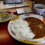 レストラン ポプリ - カレーセット¥650円