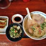 長崎らーめん 西海製麺所 - 満足セット(撮り直し)