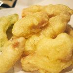 風亭 - 沖縄のてんぷら屋の定番、カジキの天ぷら。コレが美味いんだ