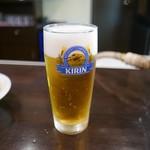 はやし - 生ビール(500円)