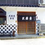 武蔵屋食堂 - 2016年7月 外観