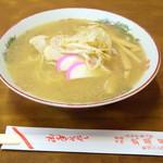武蔵屋食堂 - 2016年7月 中華そば(600円)