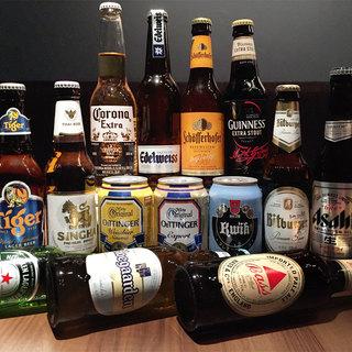 最大30種のビールを含む飲み放題も!