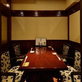 接待、会食、宴会に最適な、全席完全個室