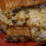 53243970 - まむしはご飯の中にも鰻が入ってます^m^