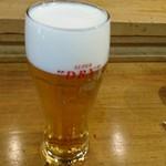 うに虎喰 - 生ビール 620円(税別) 2016.7