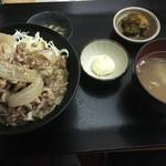呑みどころ いぐべえ - 豚の味噌生姜焼き丼 800円税込