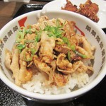 53245959 - 夜D定食の豚バラ丼。