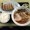 手打ラーメンぎおん - 料理写真:餃子セット1,000円